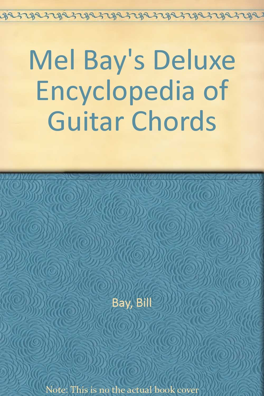 Mel Bays Deluxe Encyclopedia Of Guitar Chords Amazon Books