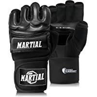 Martial Guantes MMA Profesionales – Guantes de Boxeo Calidad Profesional y Construcción Duradera – Boxeo, Entrenamiento…