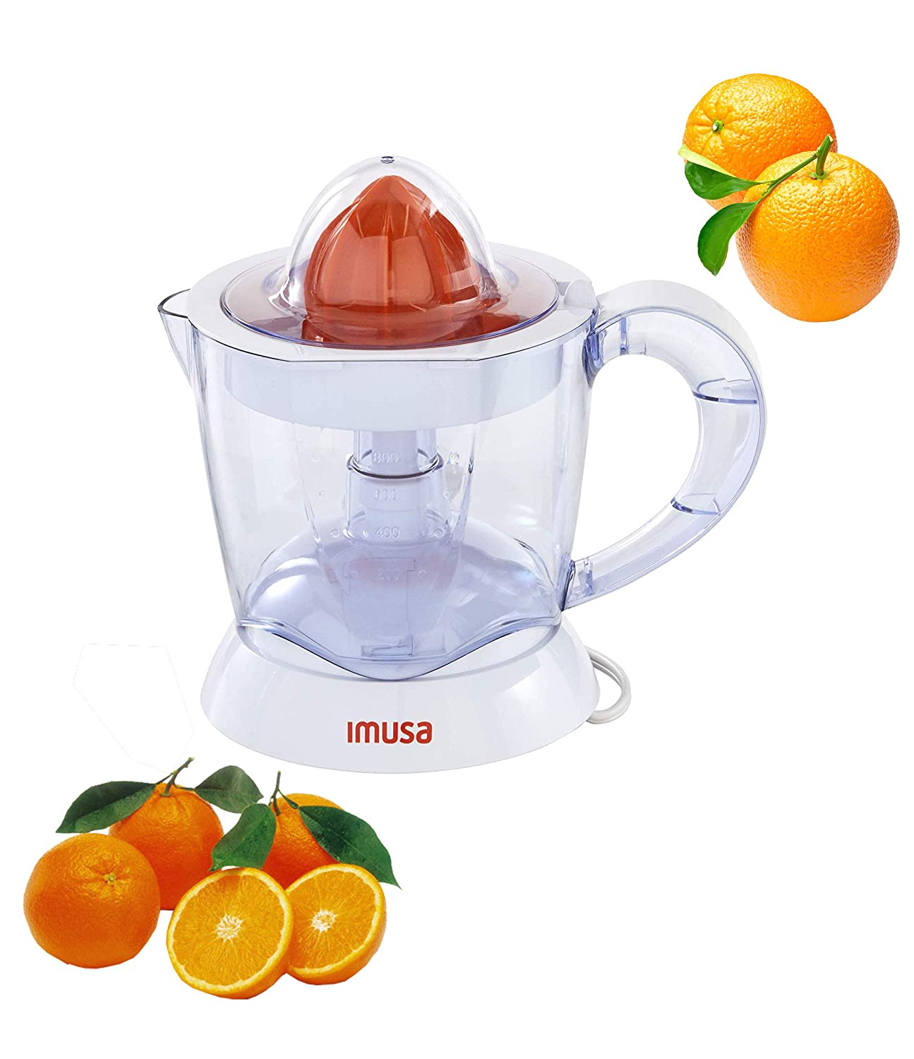 IMUSA USA GAU-80340Electric Citrus Juicer 40-Watts, White