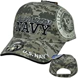 United States US Navy Military Insignia Seal Digital Camo Camouflage Hat Cap