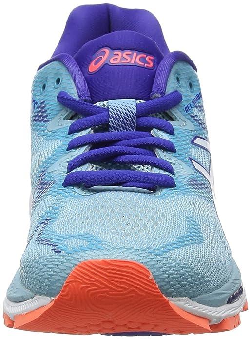 Amazon.com | ASICS Womens Gel-Nimbus 20, Porcelain Blue/White Blue | Road Running