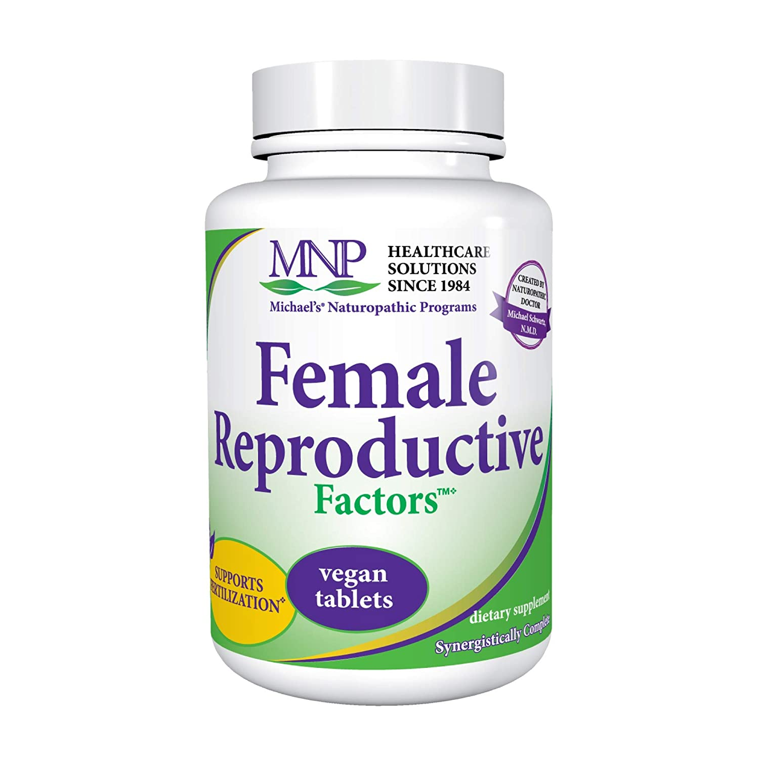 Michael\'s Naturopathic Programs Female Reproductive Factors - 60 Vegan  Tablets - Promotes Healthy Contraception & Pregnancy - Vegetarian, Gluten  Free, ...