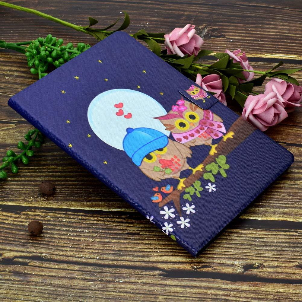 Coopay iPad Pro 11 H/üllen Leder iPad Pro 11 2018 Schutzh/ülle,Ultrad/ünne Case Full Body Lederh/ülle,Flip Standfunktion mit Weich R/ückseite Abdeckung Etui Ledertasche,Muster Grau Elefant