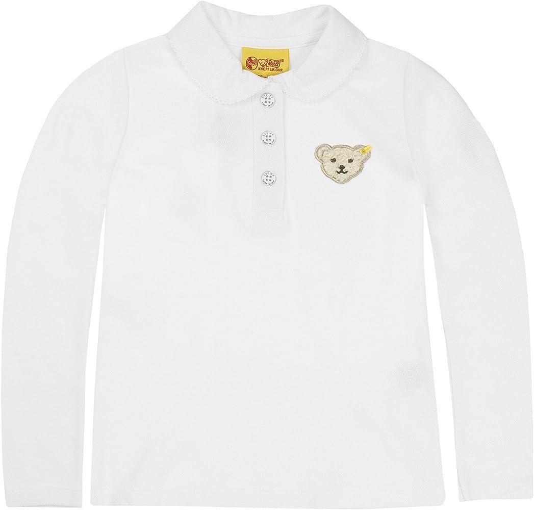 Steiff 0006893 1/1 Sleeves, Polo para Bebé-Niños, Blanco, 18-24 ...