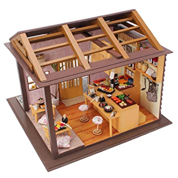 puppenhaus deko selber machen beautiful diy haus bausatz basteln miniatur puppenhaus dekoration. Black Bedroom Furniture Sets. Home Design Ideas