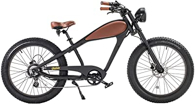 CIVIBIKES Cheetah Vintage Electric Bike