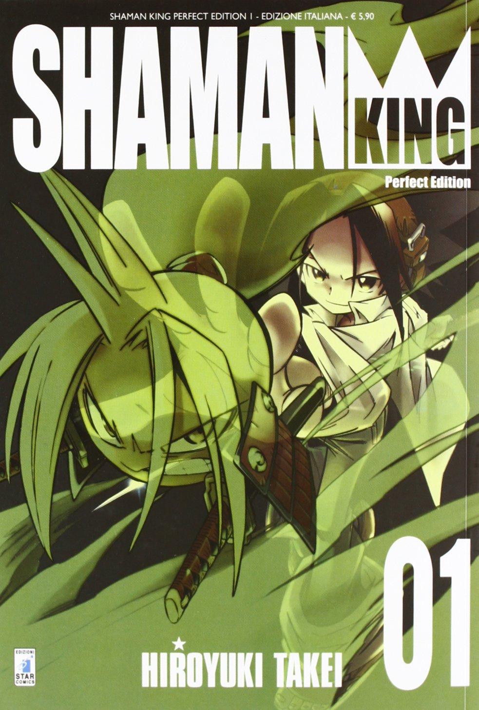 Risultati immagini per perfect edition shaman king