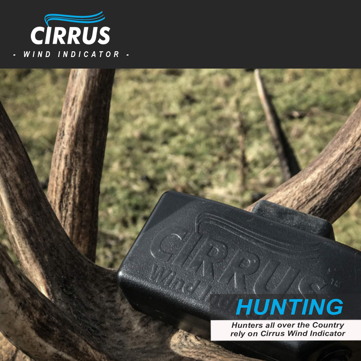 Cirrus Wind Indicator for Hunting - The Perfect Wind Checker Alternative to Messy Powder by Cirrus (Image #9)