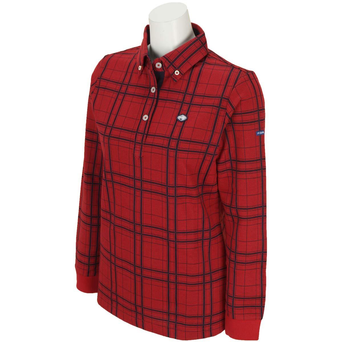 フィドラ(フィドラ) 先染めチェックシャツ FI38UG06 RED (レッド/M/Lady's)   B07JJ87RG9