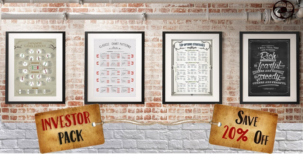 INVESTOR PACK POSTER. The perfect gift for the stock market enthusiast.