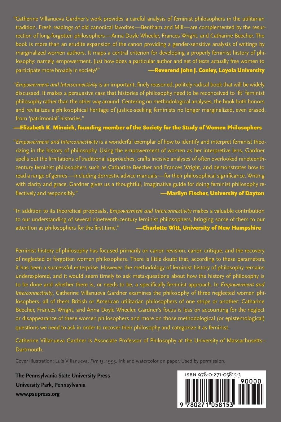 Empowerment and Interconnectivity: Toward a Feminist History of Utilitarian Philosophy