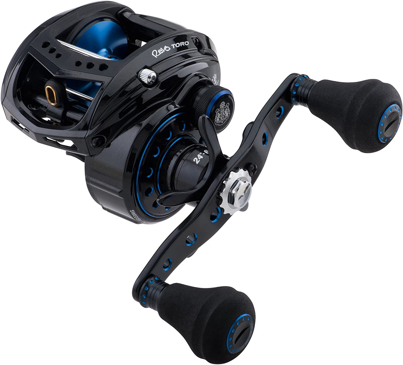 best musky reel: Abu Garcia Revo Toro Beast T2 Low-Profile Baitcast Fishing Reel