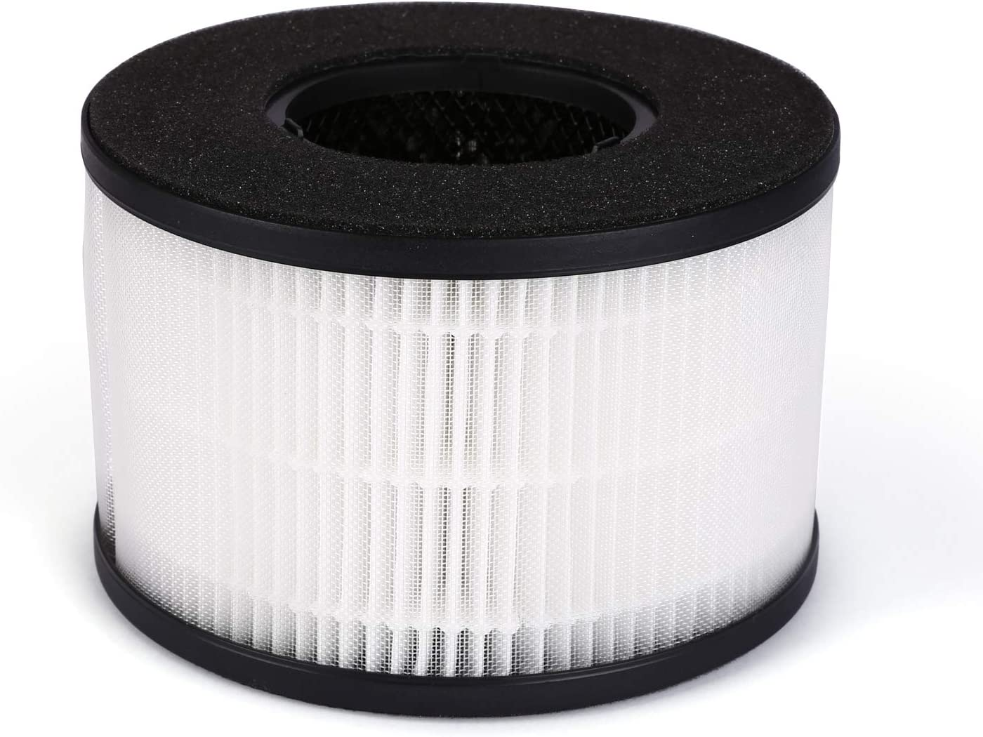 PARTU BS-03 HEPA Air Filter Replacement Filter, 3-in-1 Filtration System Include Pre-Filter, True HEPA Filter, Activated Carbon Filter.