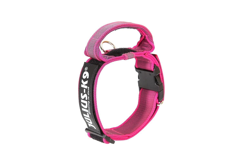Julius-K9 - Collar para perro, Rosa (Pink/Gray), 40 mm*38-53 cm ...