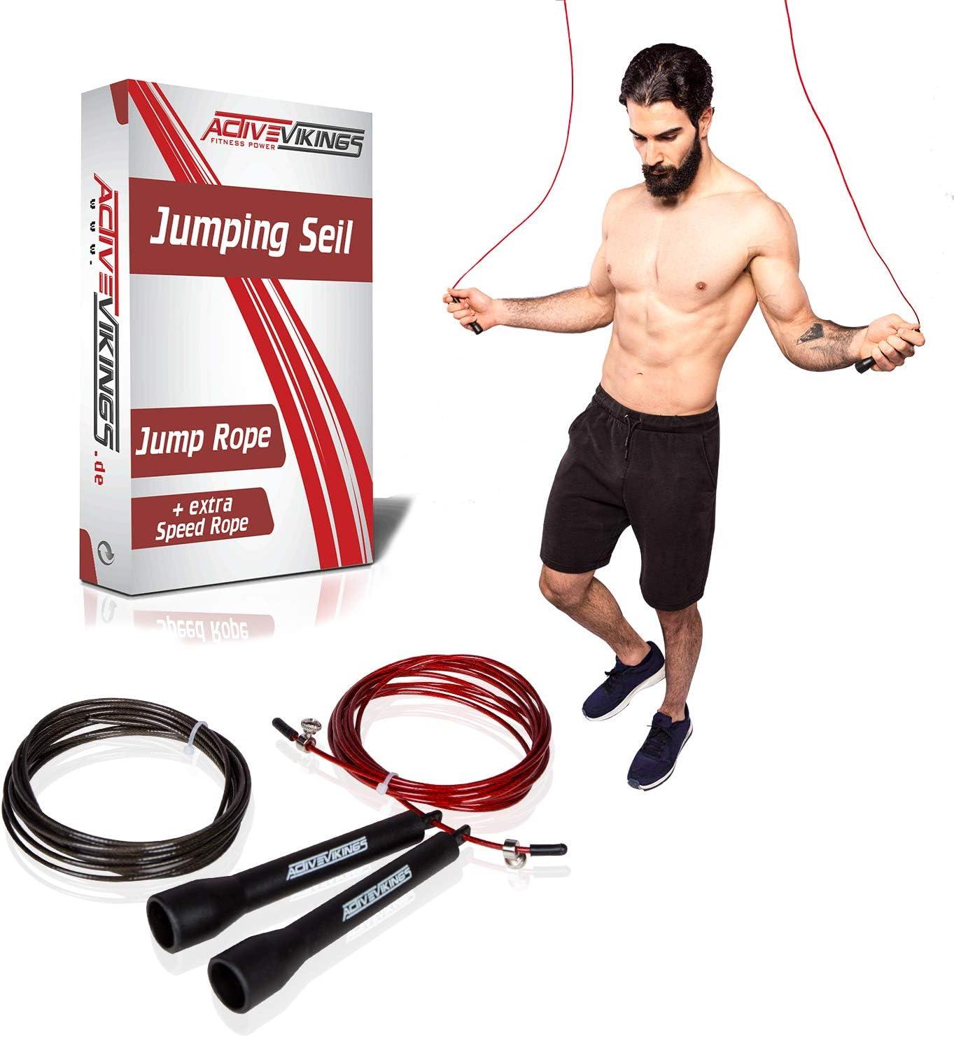Springseil Schwungseil Hüpfseil Seilspringen Einstellbar für Kinder Training