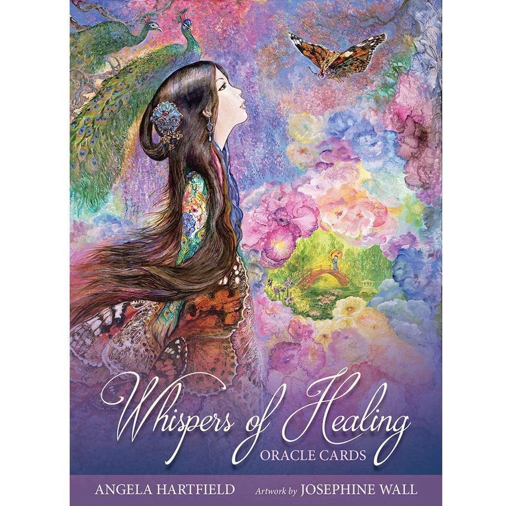 Anya Nana Whispers of Healing Oracle New Deck and Book Set Cards New by Anya Nana (Image #1)