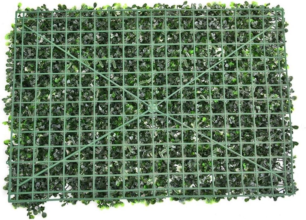 Simulación de la hierba de Milán. Artificial Plastico Césped falso Planta Pared de fondo decoracion: Amazon.es: Bricolaje y herramientas