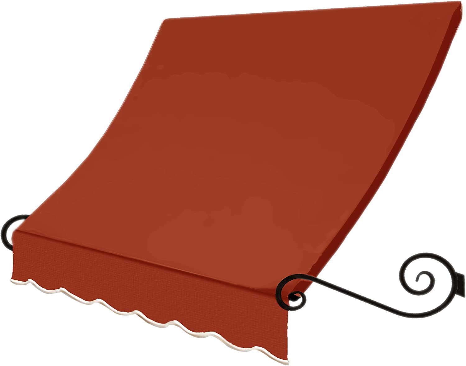 Tan Wide Charleston Window//Entry Awning 31 in. H x 24 in. D 3.38 ft
