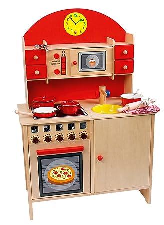 Beluga - Cocina de juguete de madera: Amazon.es: Juguetes y juegos