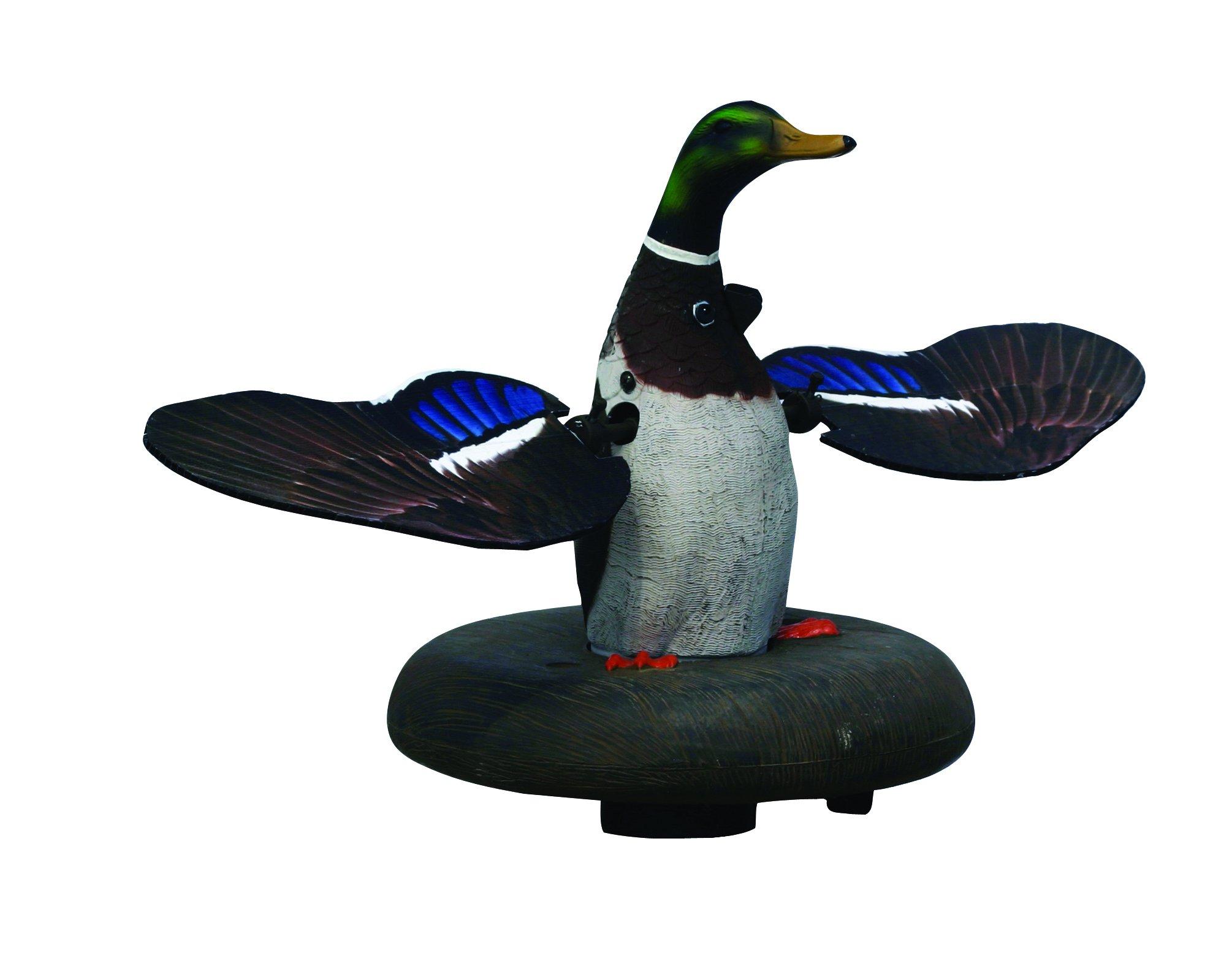 Higdon Outdoors XS Floating Flasher Duck Decoy, Mallard Drake 12V