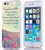 Iphone 6S Case Christian Quotes, Apple Iphone 6S Case Bible Verses Isaiah 55:8-9