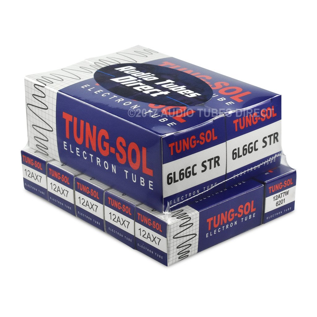 Amazon.com: Tung-Sol Tube Upgrade Kit Fender Concert & Concert II Amps 6L6GCSTR 12AX7 12AT7W: Musical Instruments