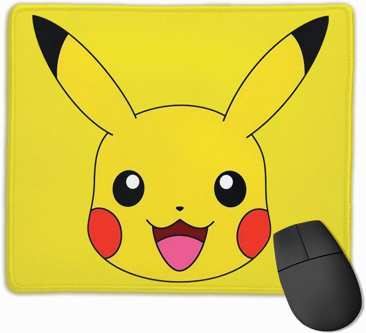 Pikachu 3D Printing Gaming 25cmx30cm Office Mousepad Custom