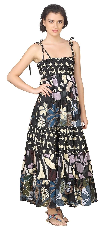 True Fashion Graphic Printed Cotton Women's Dress