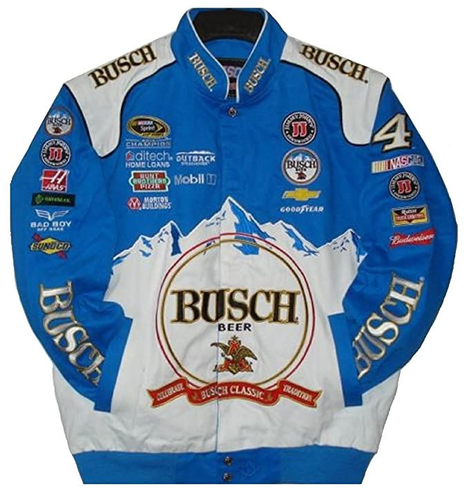J.H. Design Kevin Harvick Busch Cotton Jacket Jh Design Size 3 X Large by J.H. Design