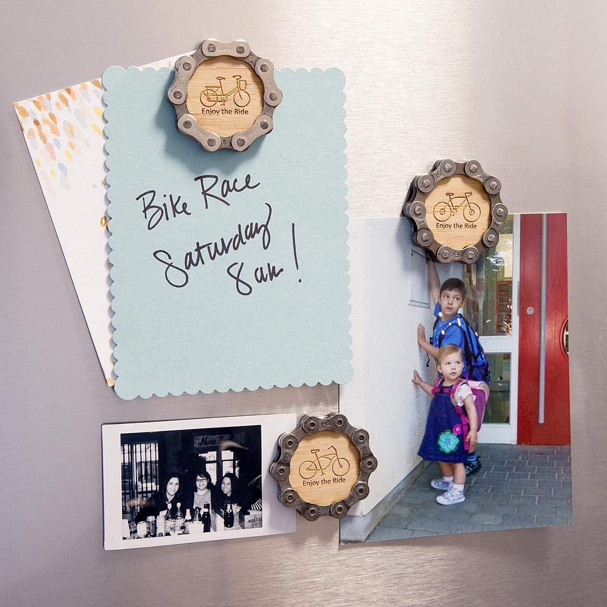 TableTop King Enjoy The Ride Bike Chain Magnets
