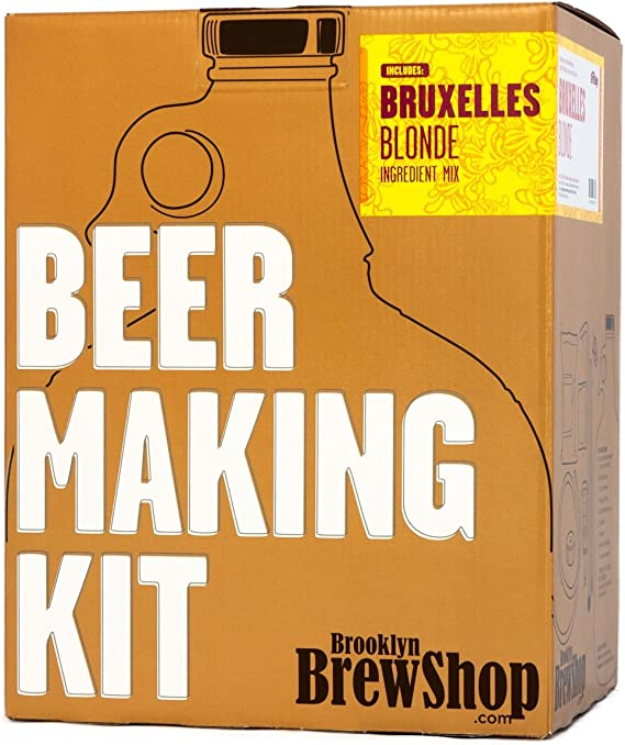 Brooklyn Brew Shop Bruxelles Blonde Beer Making Kit
