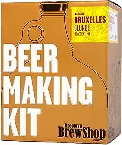 Brooklyn Brew Shop - Kit Fabrication Bière Blonde Bruxelles pour 3,78 Litres