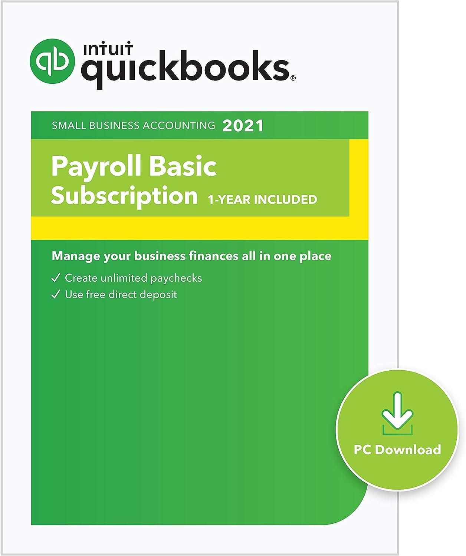 QuickBooks Desktop Basic Payroll 2021 Discount Coupon Code