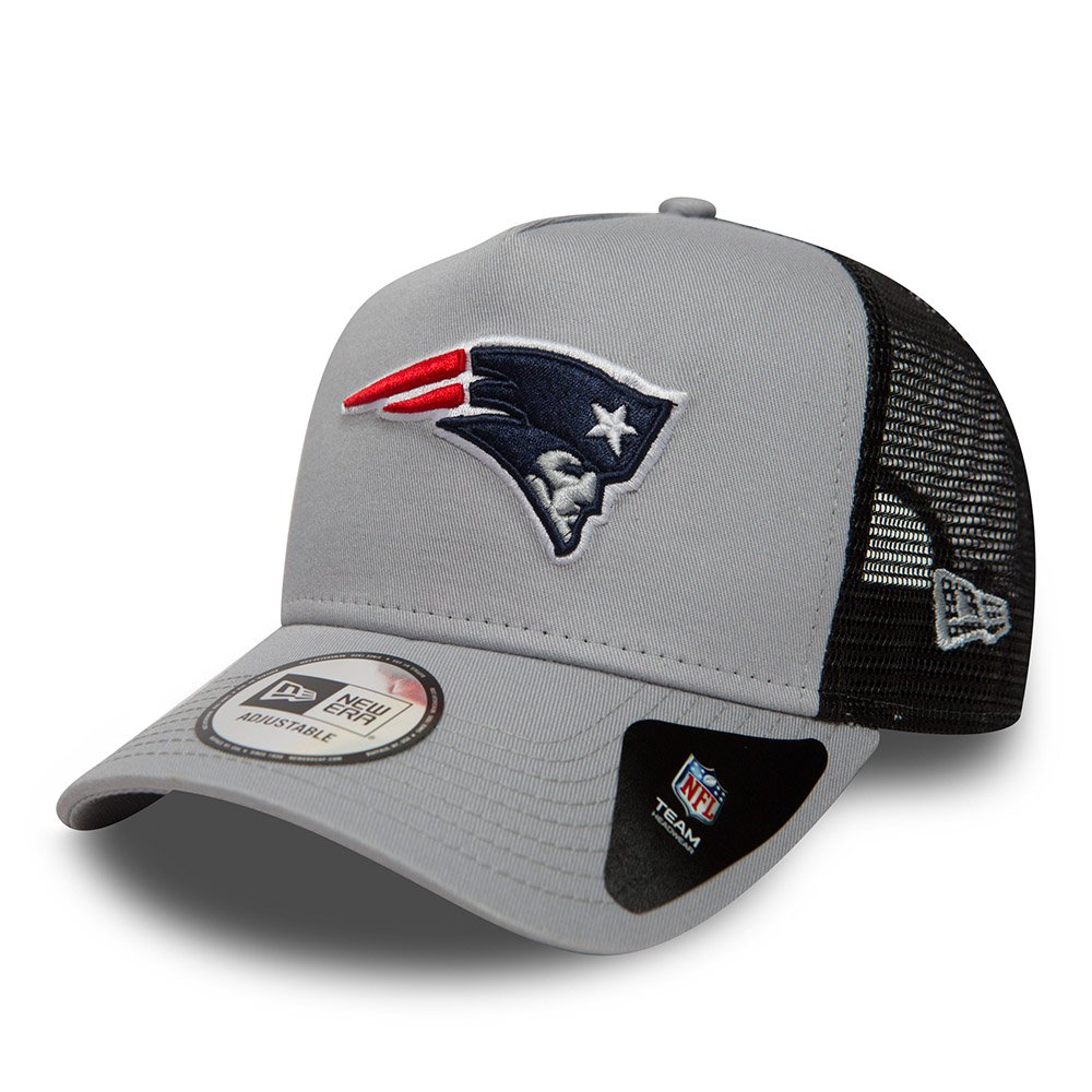 New Era New England Patriots Essential A Frame Adjustable Snapback Trucker Cap 80635937