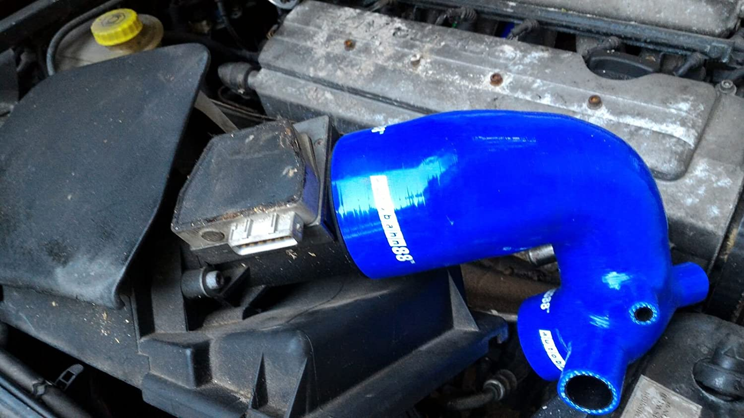 Autobahn88 Air Intake Silicone Hose Kit for 1998-2005 Audi TT 180ps S3 Quattro AJQ AUQ ARY APP AWP Blue -without Clamp Set