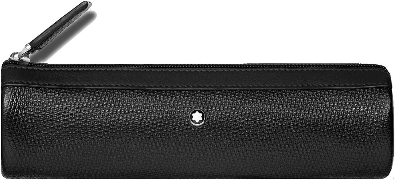 Montblanc Meisterstück Unicef Estuches 17 Centimeters Negro (Schwarz): Amazon.es: Equipaje