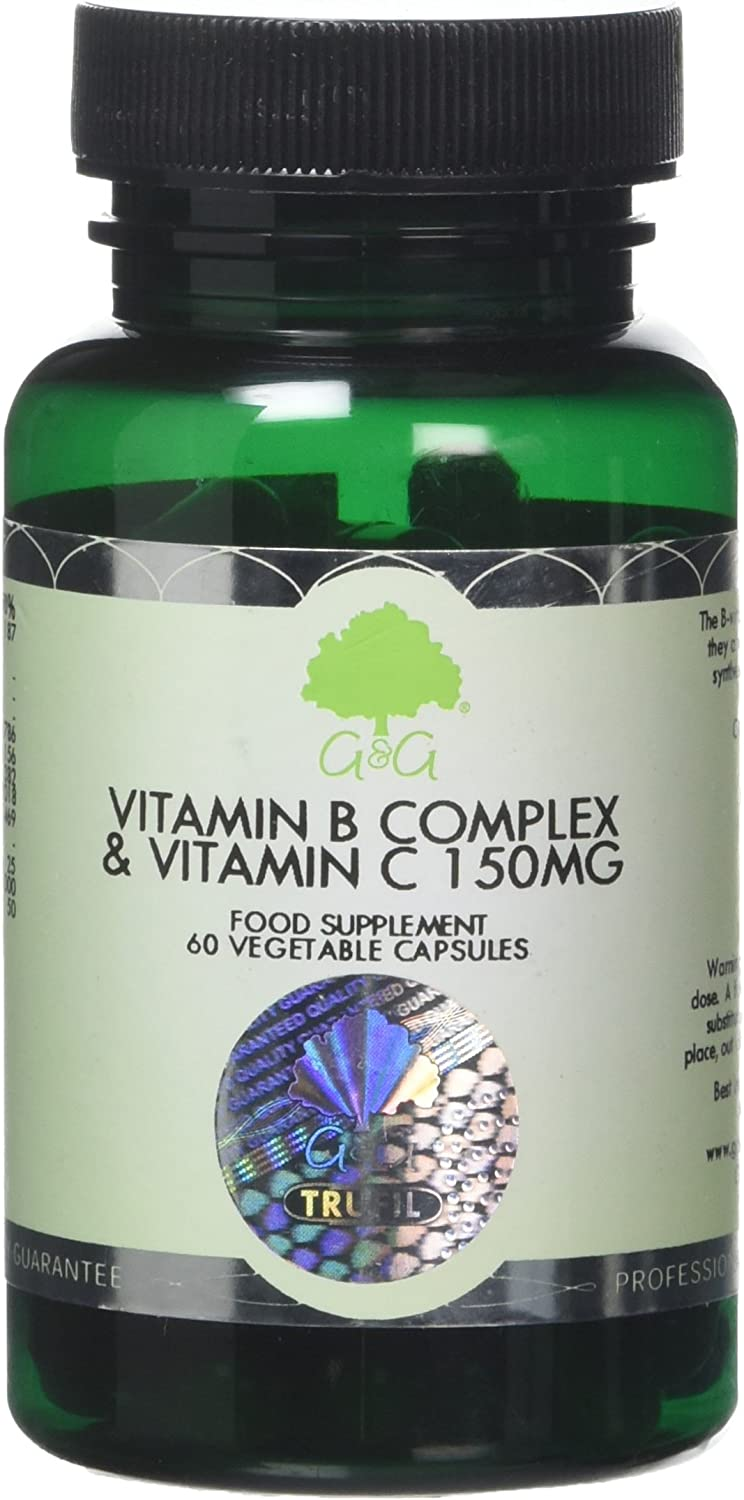 G&G Vitamins 150mg Vitamin B-Complex and C Capsules