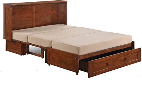 Clover Murphy Cabinet Bed Cherry