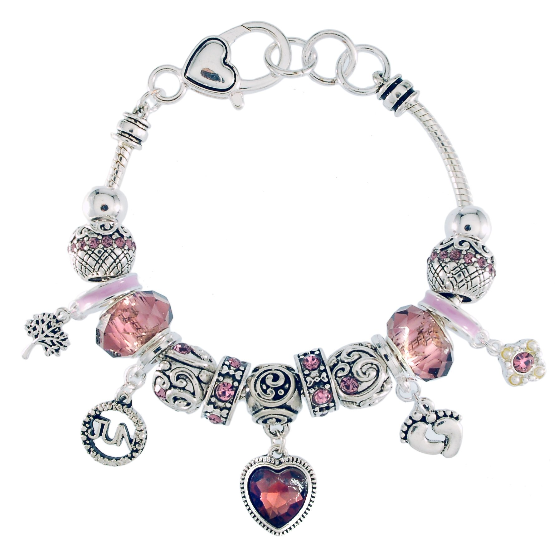 Landau Ambrosia June Birthstone Charm Bracelet