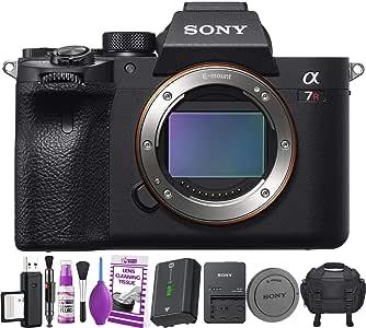 Sony Alpha a7R IV cámara Digital sin Espejo (Solo Cuerpo) Kit de ...