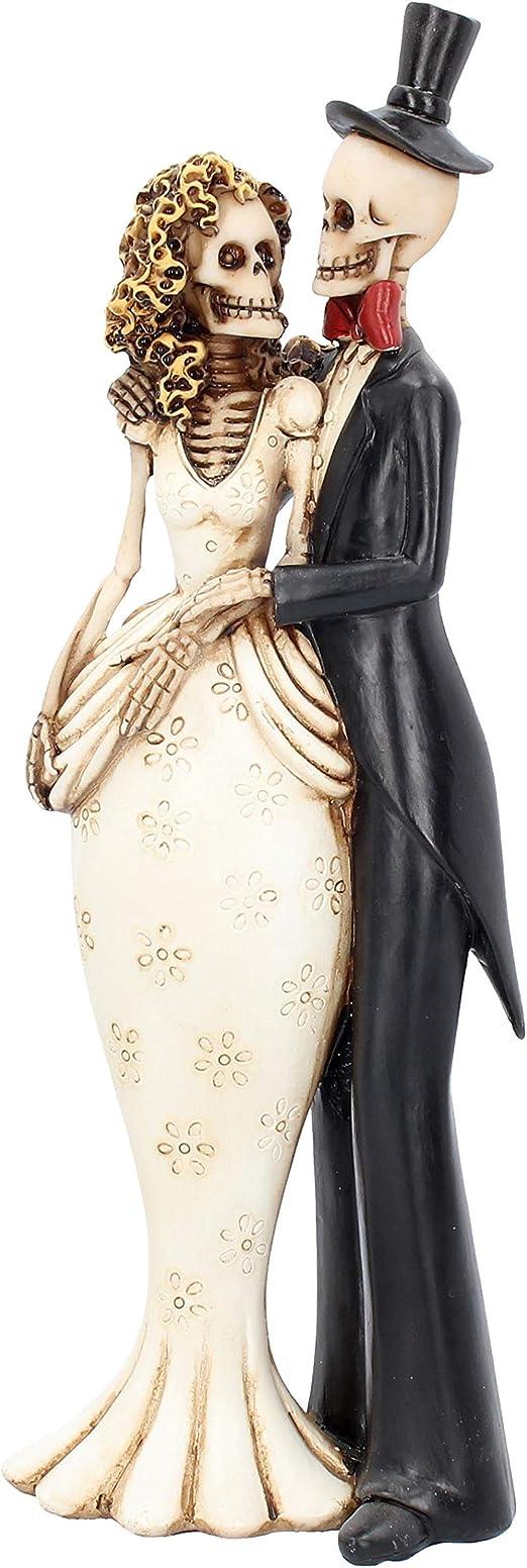 /'Til Death Do Us Part Gothic Skeleton Wedding Ornament