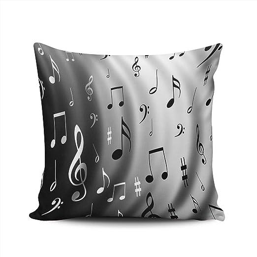 Dormitorio Decoración Personalizada Nota Musical Funda de ...
