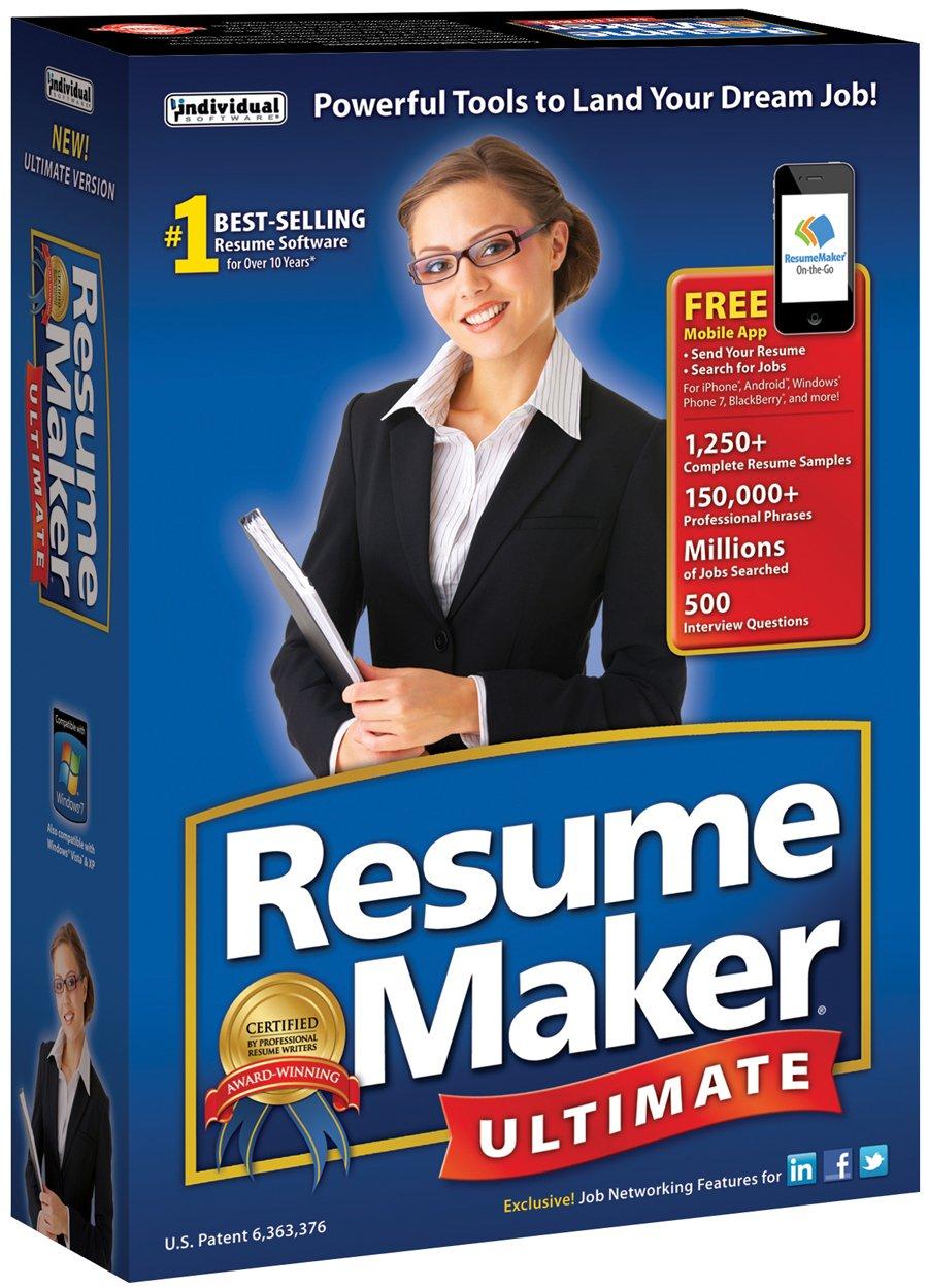 Amazon.com: ResumeMaker Ultimate 6 [Download]: Software
