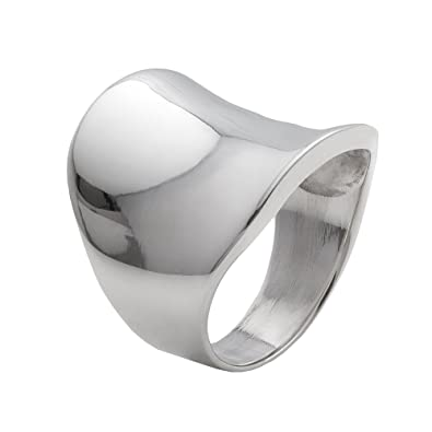 Silverly Women's Men's .925 Sterling Silver Rope Scroll Work Bali Thick 15.3mm Thumb Ring dblHj1LeF