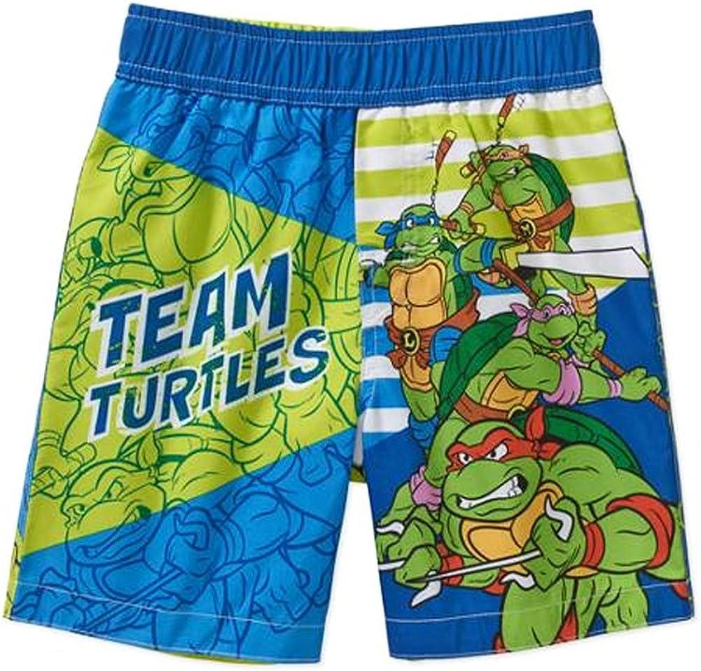 Toddler Boys Teenage Mutant Ninja Turtles Swim Short Trunk