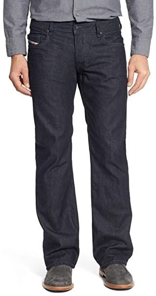shopping factory authentic low price Amazon.com: Diesel Men's Zatiny Regular Bootcut Jeans Blue ...