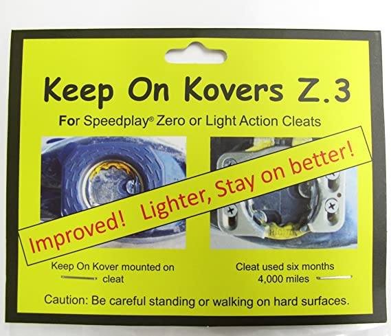 Keep on Kovers Z.3 For Speedplay Zero or Light Action Cleats New and Improved
