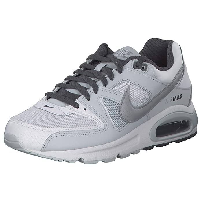 Nike Air Max Command Herren Sneaker Lauf-Schuhe weiß/grau