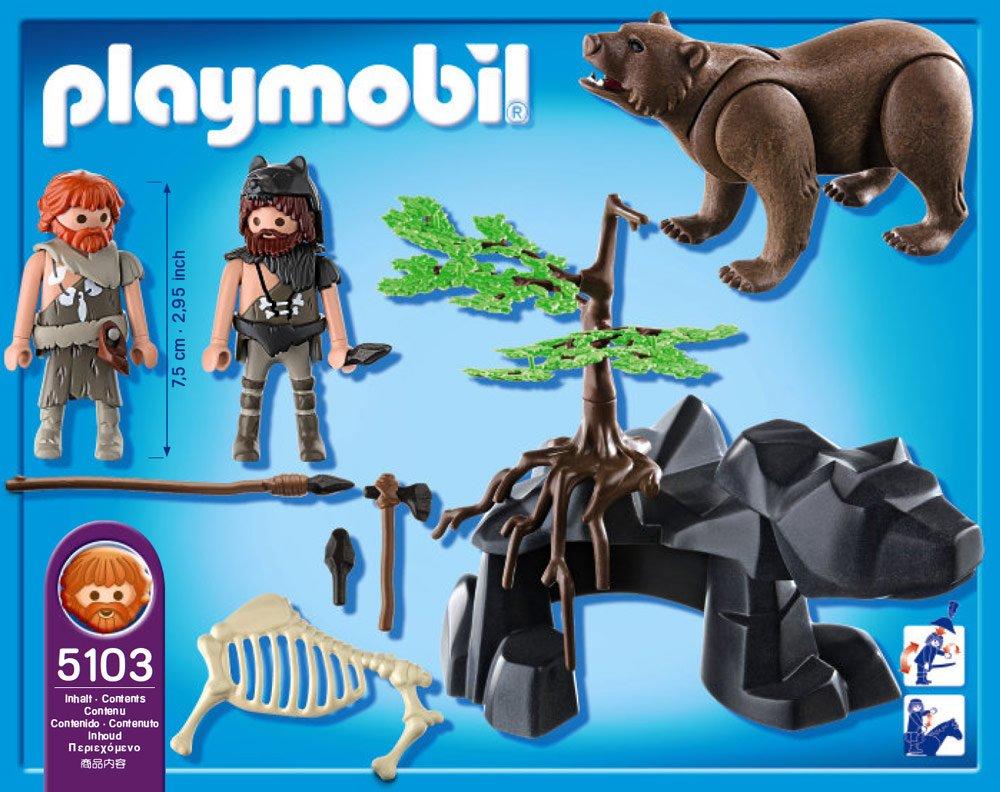5103-Hommes Préhistoriques Avec Ours De Playmobil