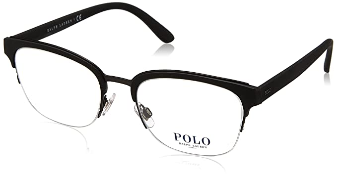 Ralph Lauren POLO 0PH2177 Monturas de gafas, Matte Dark Gunmetal ...